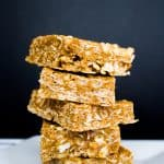 5 Ingredient No Bake Nut Butter Bars | mamaknowsnutrition.com