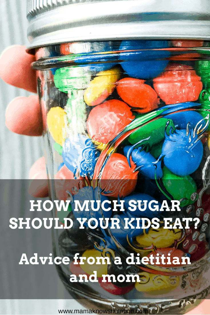 How much sugar should your kids eat? | mamaknowsnutrition.com