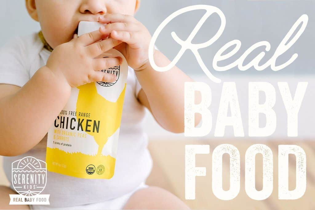 Serenity Kids Baby Food - healthy on-the-go baby food