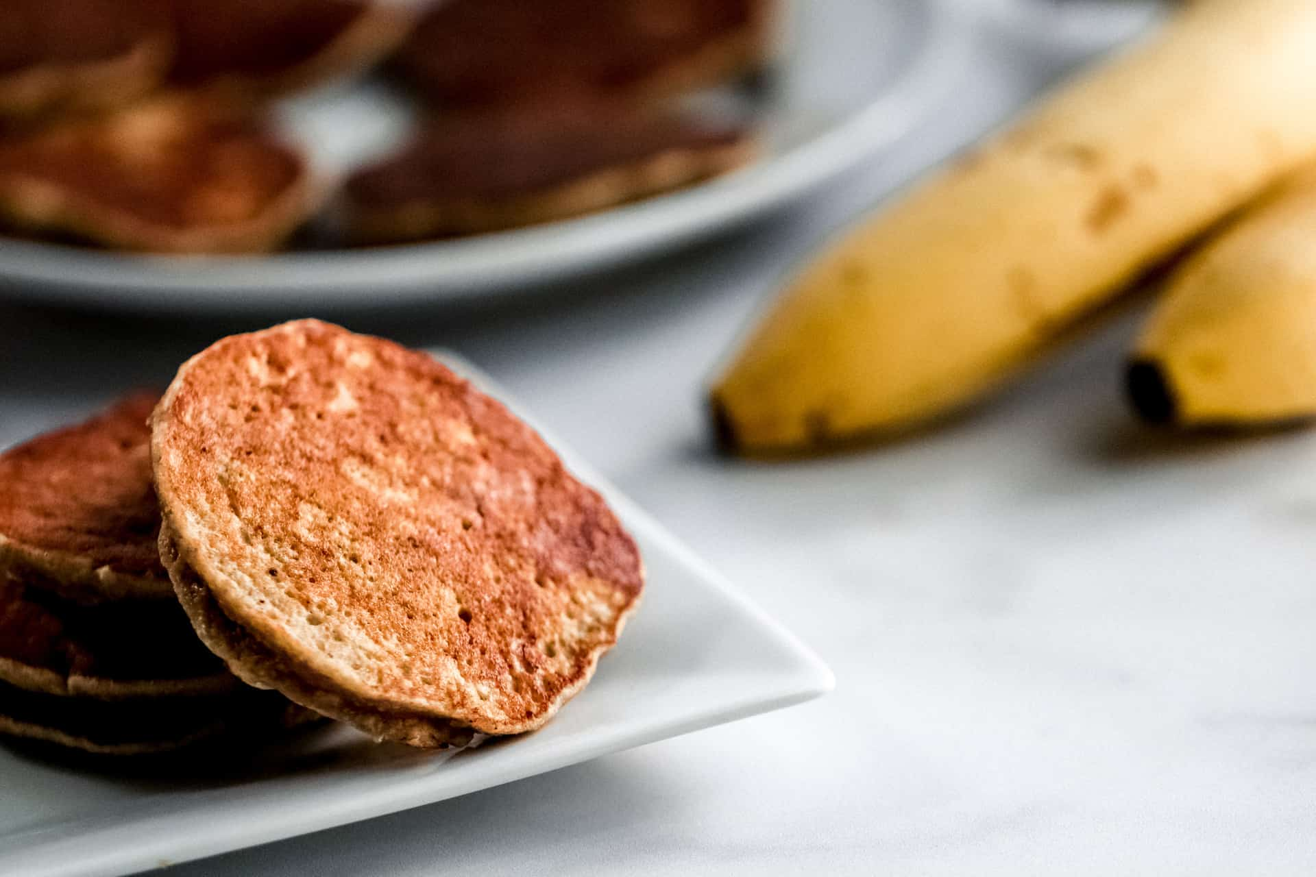 banana oat pancakes for babies